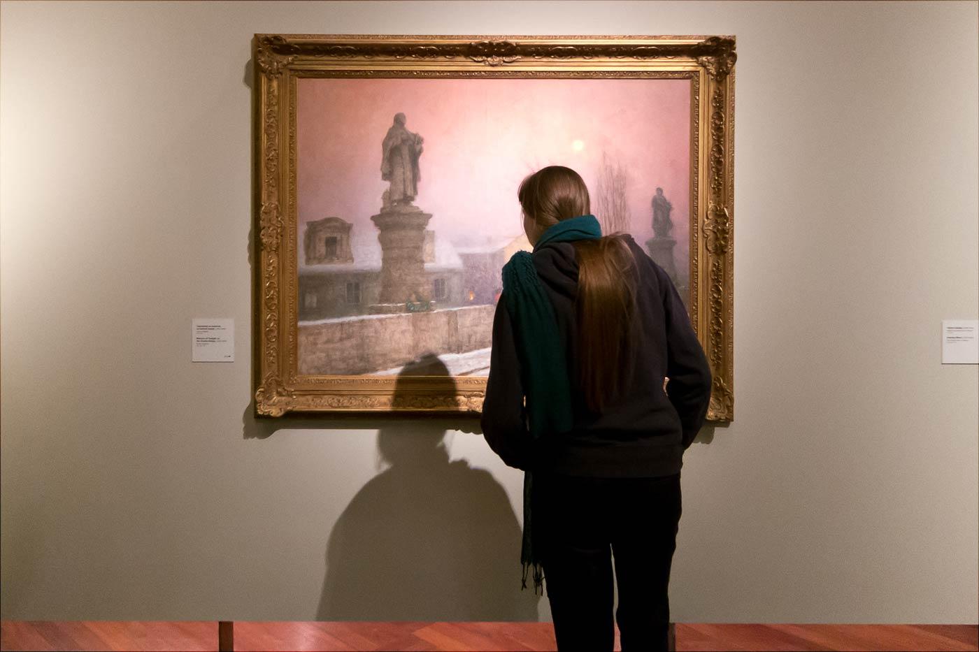 Выставка картин Якуба Шиканедера в Праге