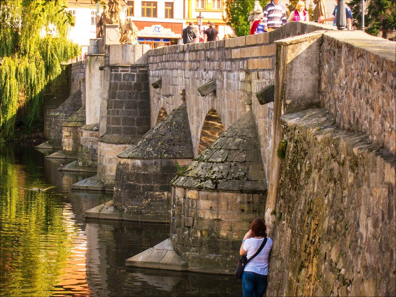 Писек, самый старый каменный мост в Чехии