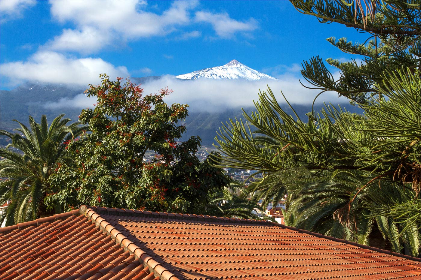 Тенерифе, вид на вулкан Тейде
