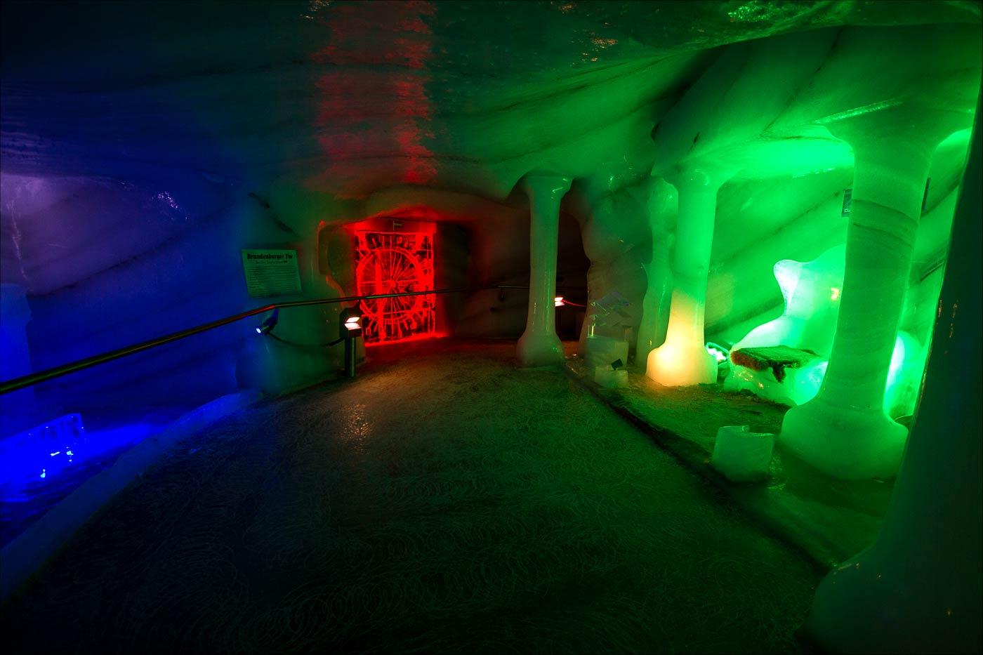 Ледяная пещера, Горный массив Дахштайн, Австрийские Альпы
