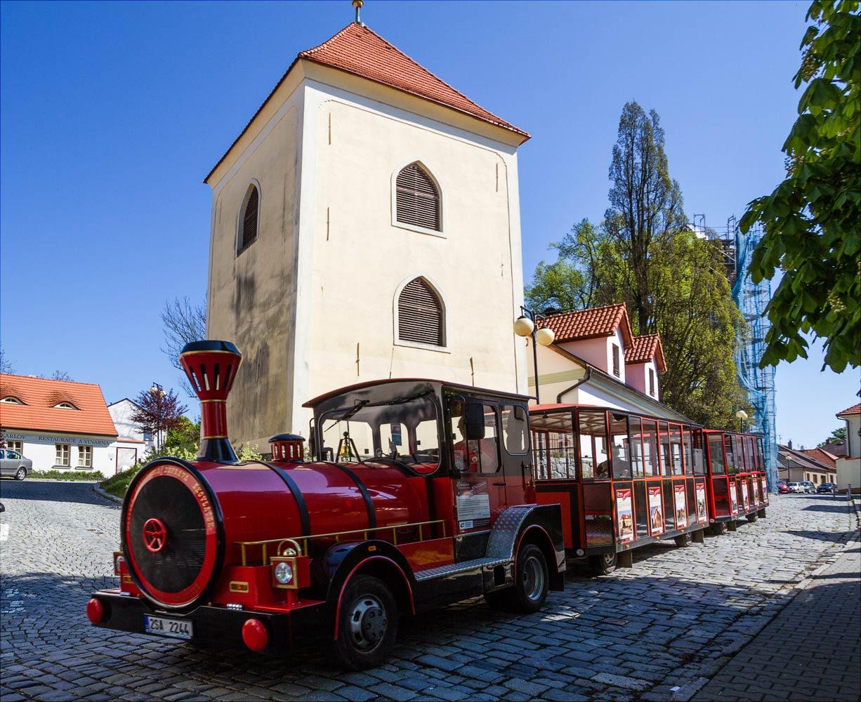 Туристский паровозик в Бенешове