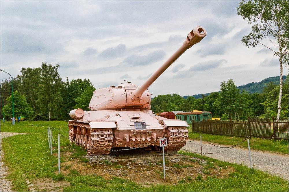 Музей военной техники в Лешанах, Чехия