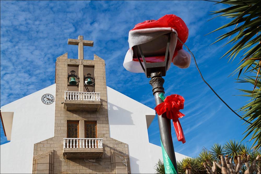 Костел Св.Риты в Пуэрто-де-ла-Круз, Тенерифе, Канарские острова