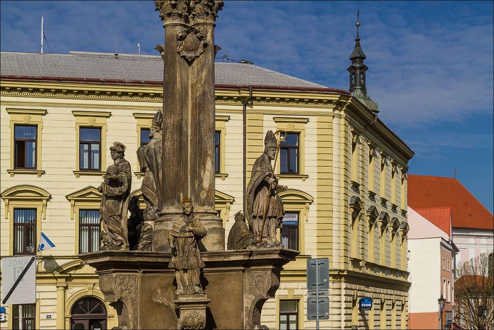 Чехия, Кромержиж (Kroměříž), Риегрова площадь (Riegrovo náměstí)