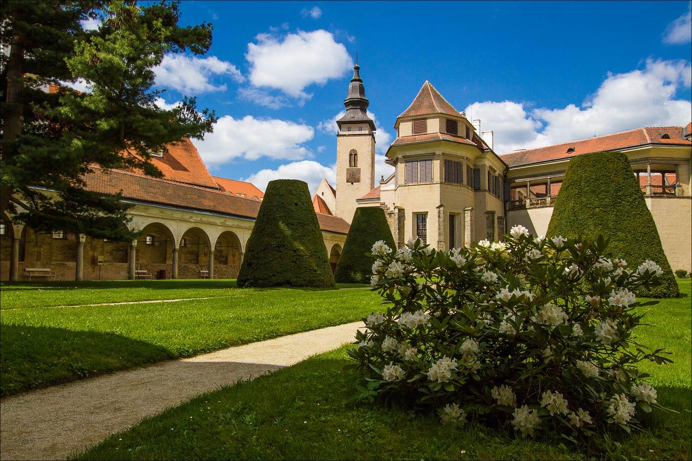 Чехия. Замок Телч