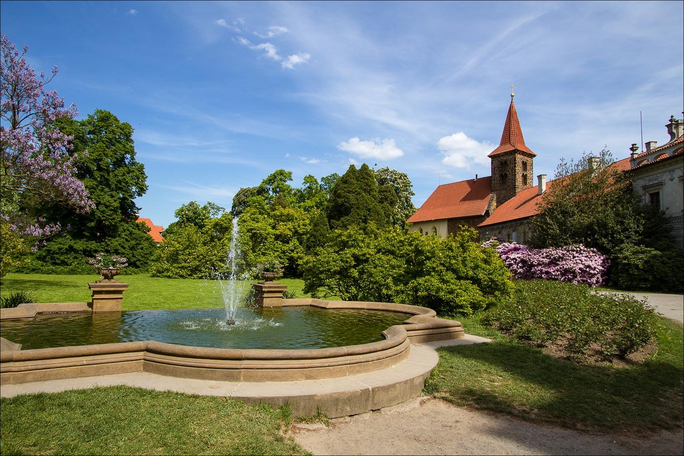 Чехия. Пругоницкий замок