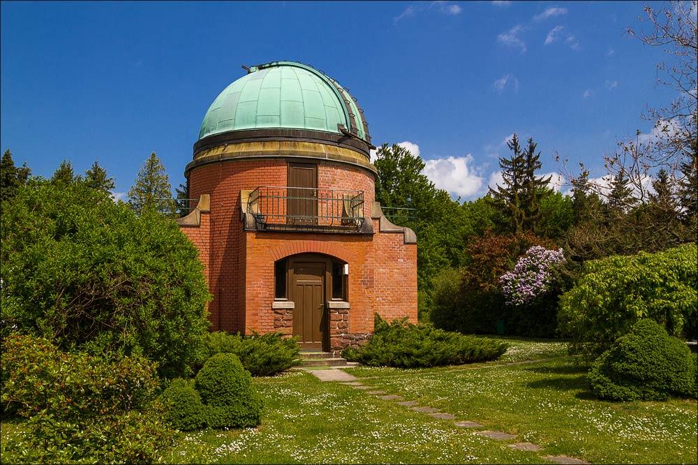 Западная башня исторического ареала, Астрономическая обсерватория в Ондржейове, Чехия, Астрономический институт Академии Наук Чешской Республики