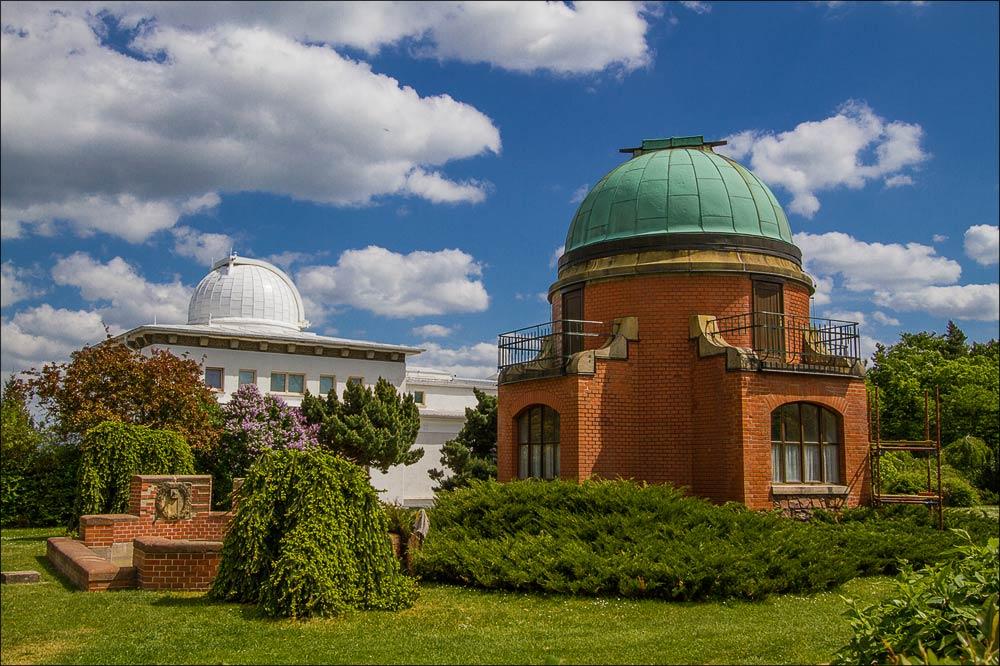 Центральная башня исторического ареала, Астрономическая обсерватория в Ондржейове, Чехия, Астрономический институт Академии Наук Чешской Республики