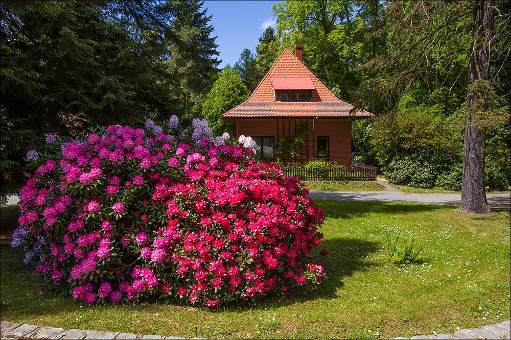 Исторический ареал астрономической обсерватории в Ондржейове, туристическая область Ладув Край, Чехия