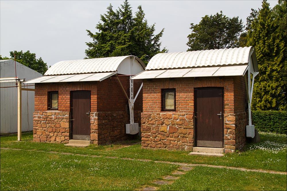 Первые домики для наблюдений, исторический ареал Астрономической обсерватории в Ондржейове, Чехия, Астрономический институт Академии Наук Чешской Республики