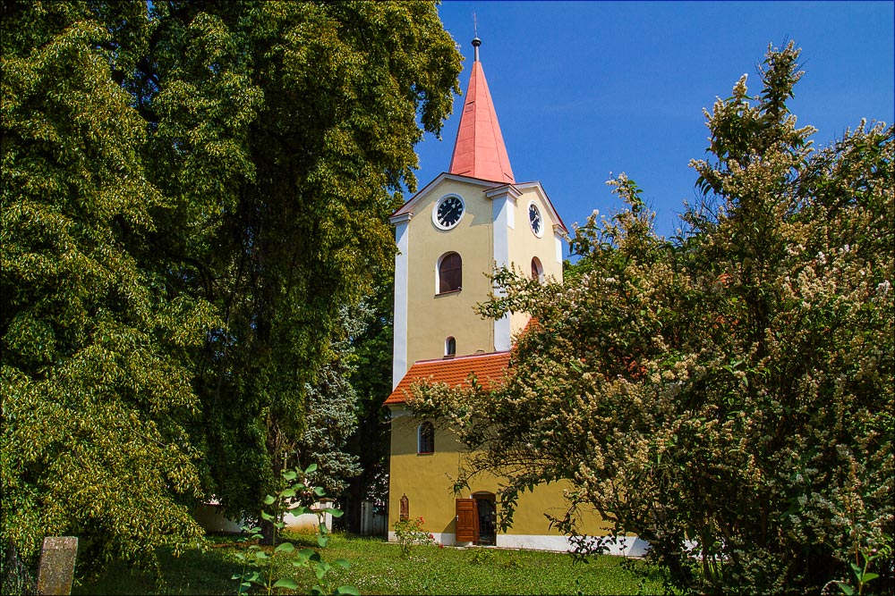 Костел святых Симеона и Иуды в Ондржейове, туристическая область Ладув край, Чехия