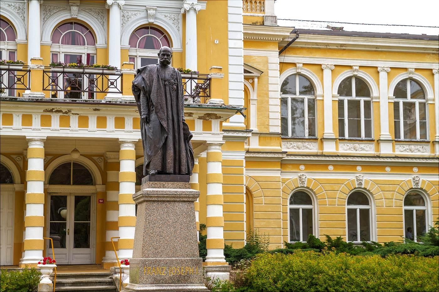 Памятник императору Францу-Йосифу I. Франтишковы Лазне, Чехия
