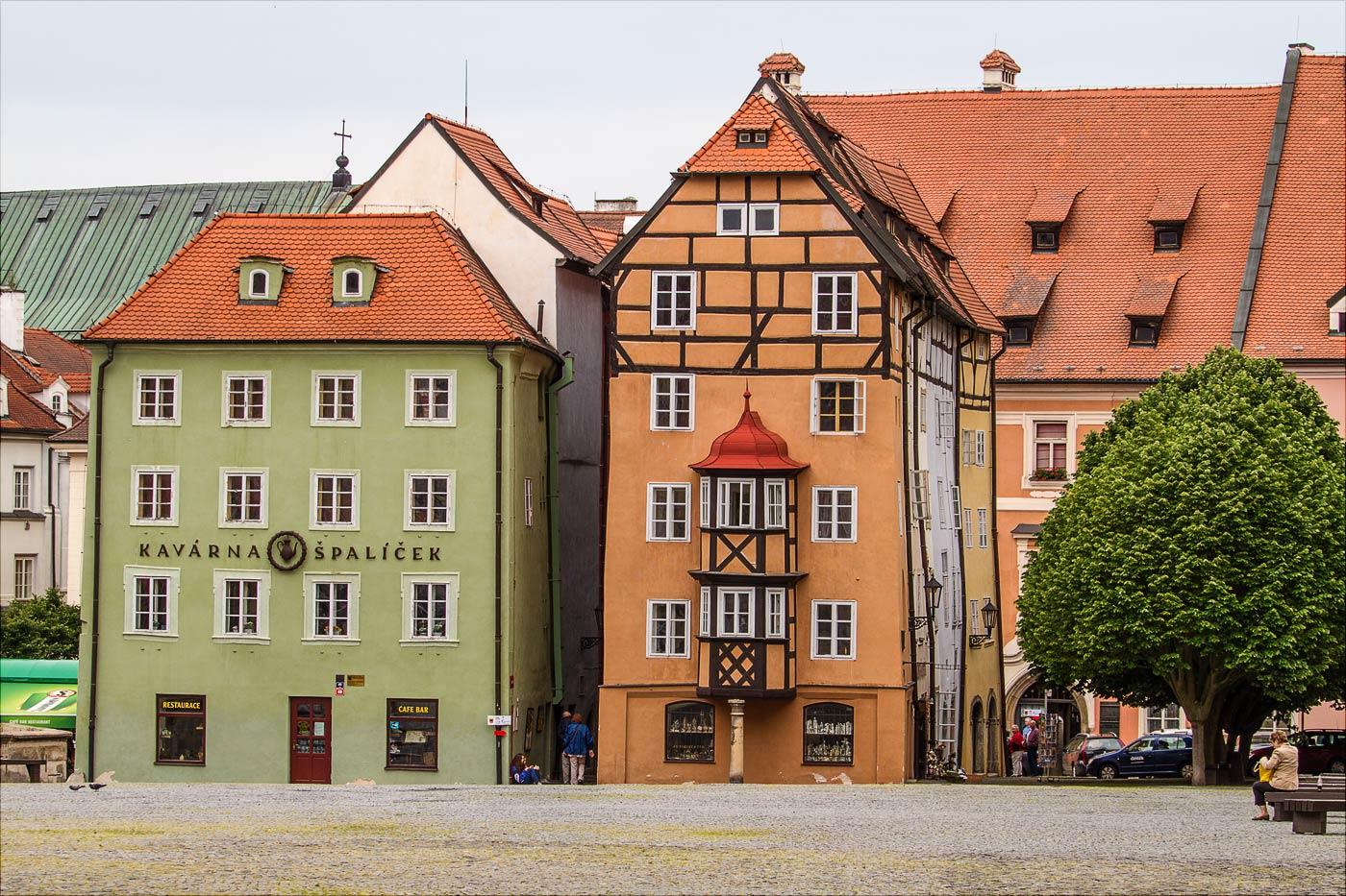 Хеб, площадь короля Йиржи с Подебрад, Чехия