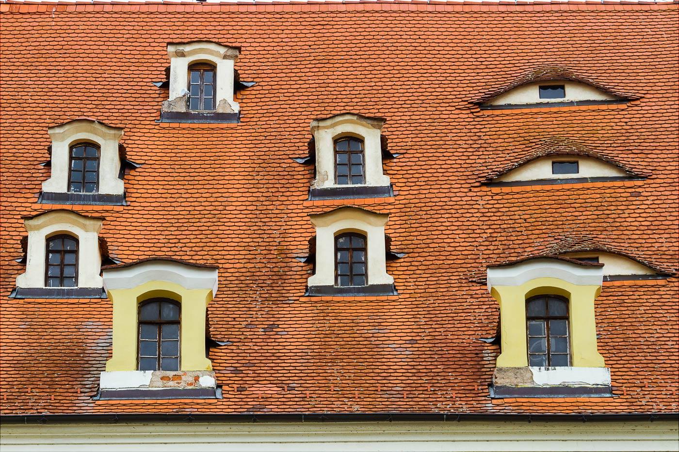 Хеб, крыши, Чехия