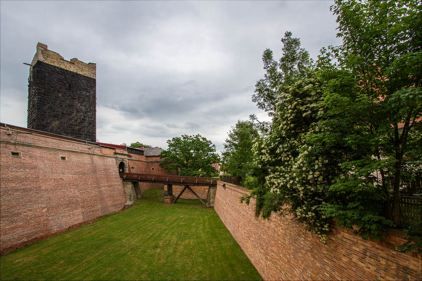Хеб, средневековый замок, Черная Башня, Чехия