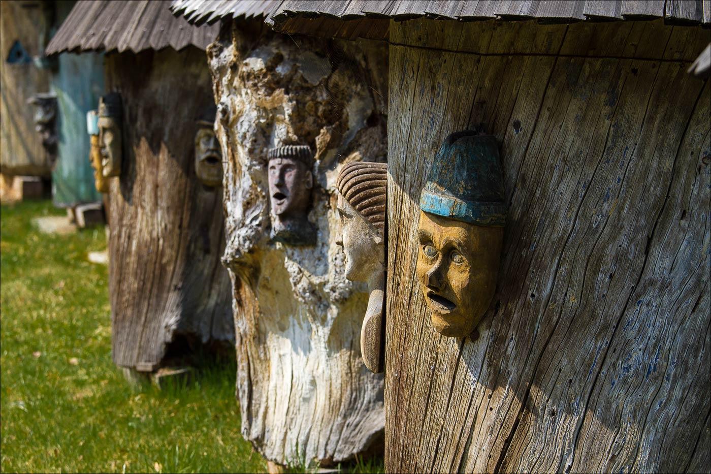 Музей народной архитектуры в Рожнове, Чехия