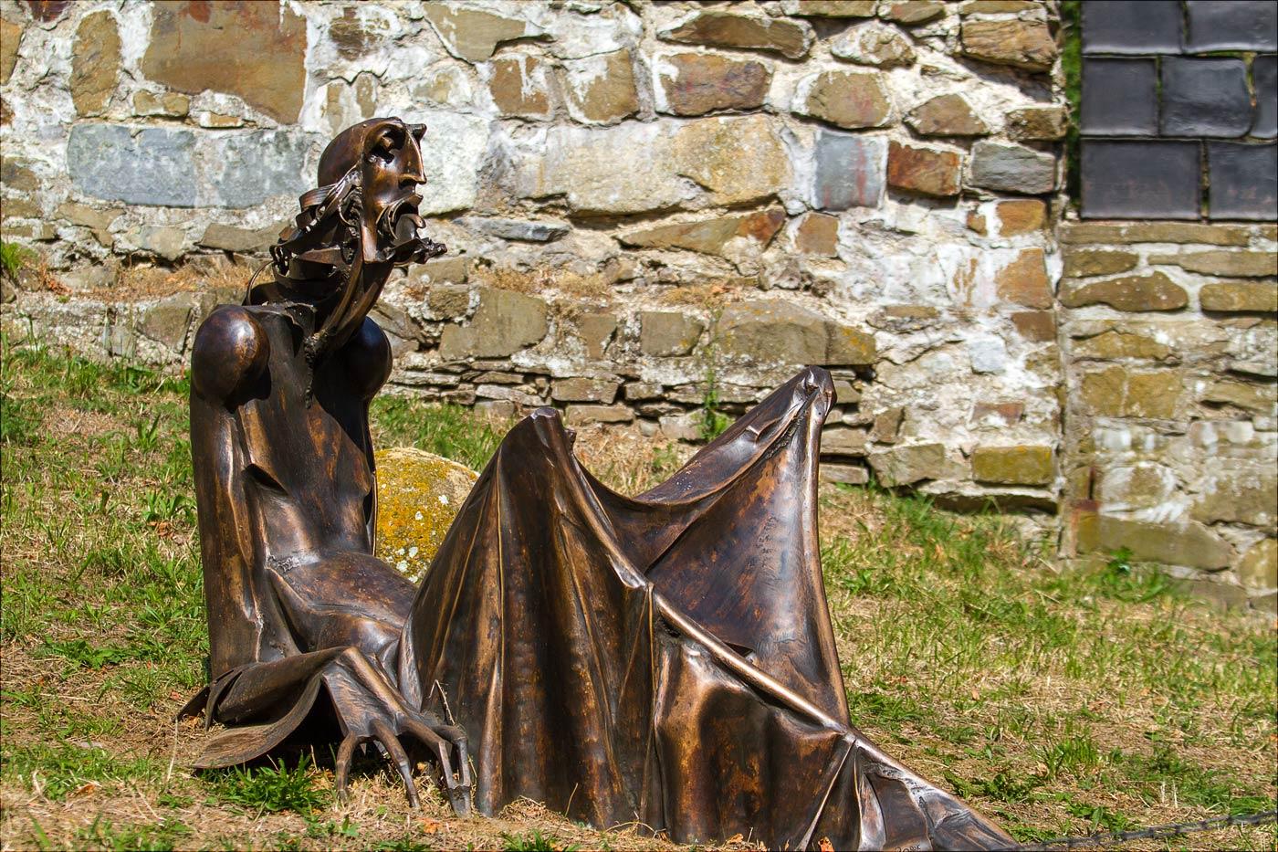 Ян Гус, замок Хелфштин, Чехия