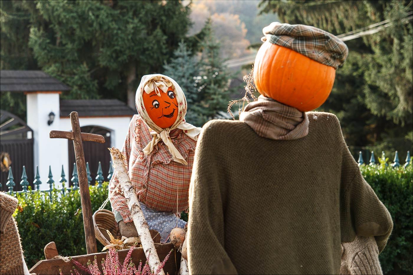 Осенние декорации, пансион Брусенка, Моравия