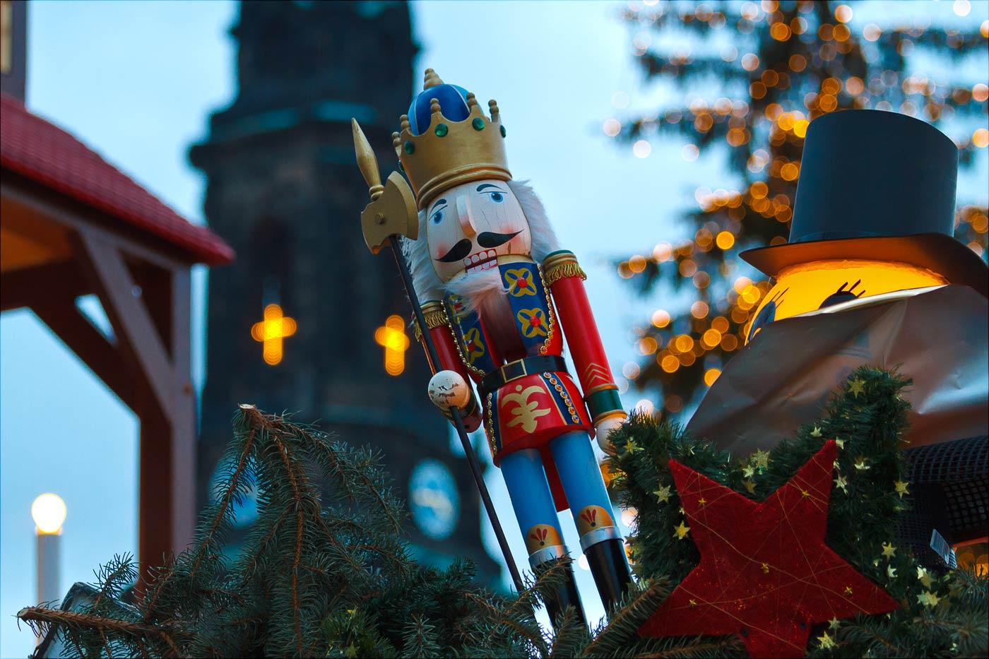 Щелкунчик. Рождественская ярмарка в Дрездене