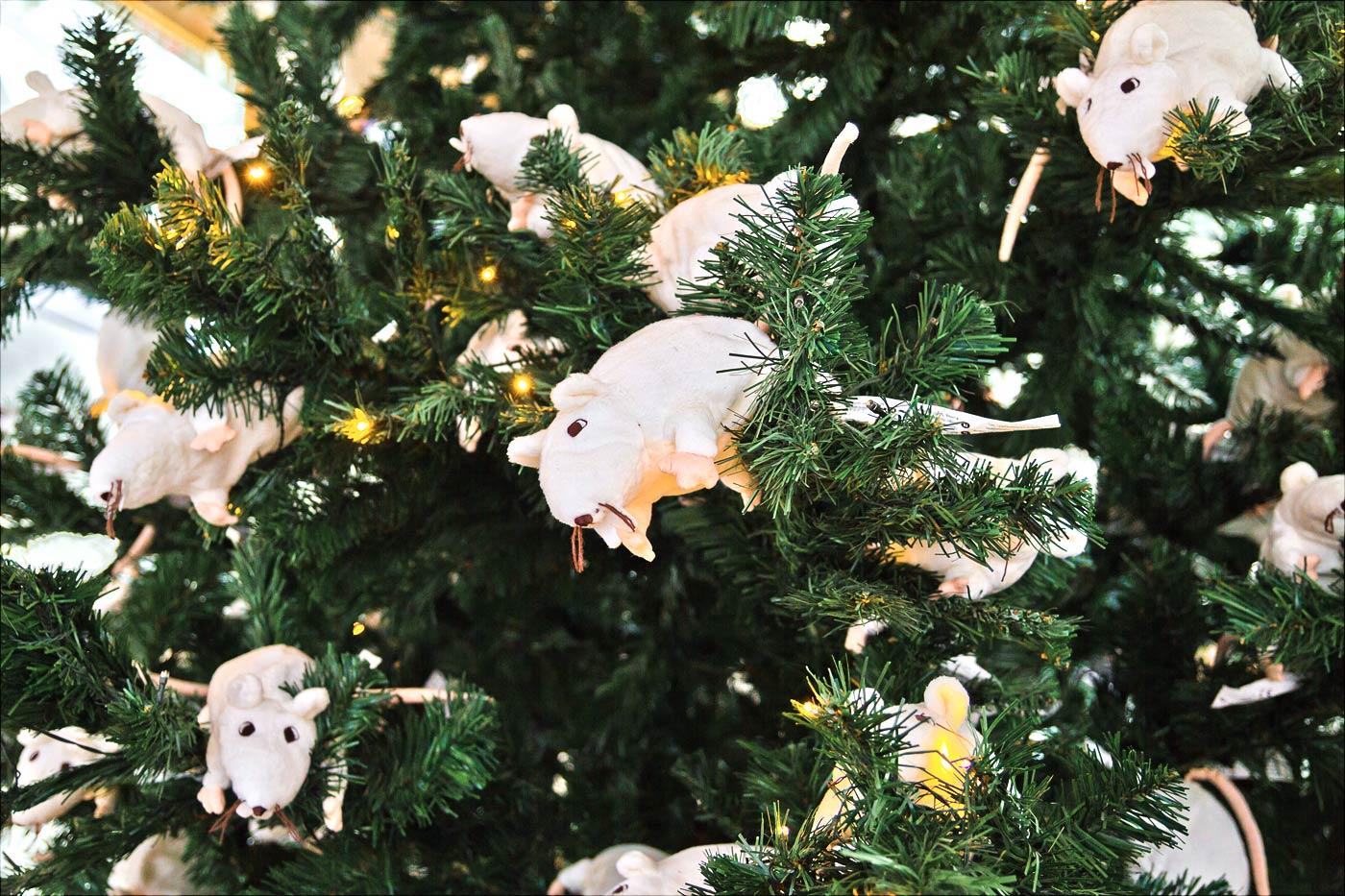 Рождественская елка в IKEA