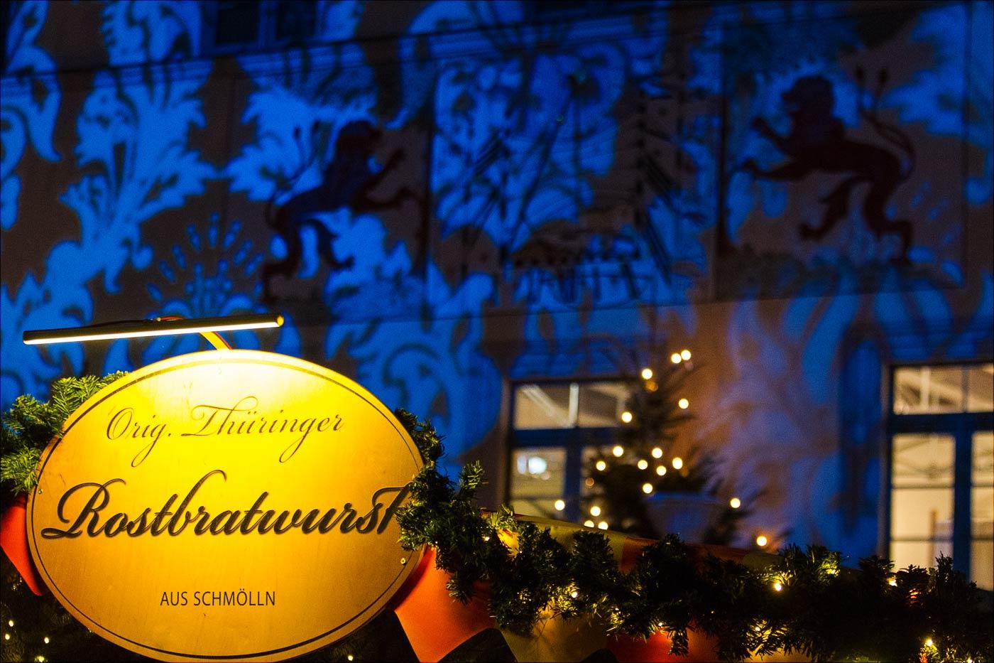 Рождественская иллюминация в Пирне, Сакония