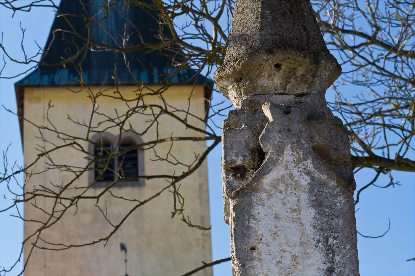Костел на холме Хвойен