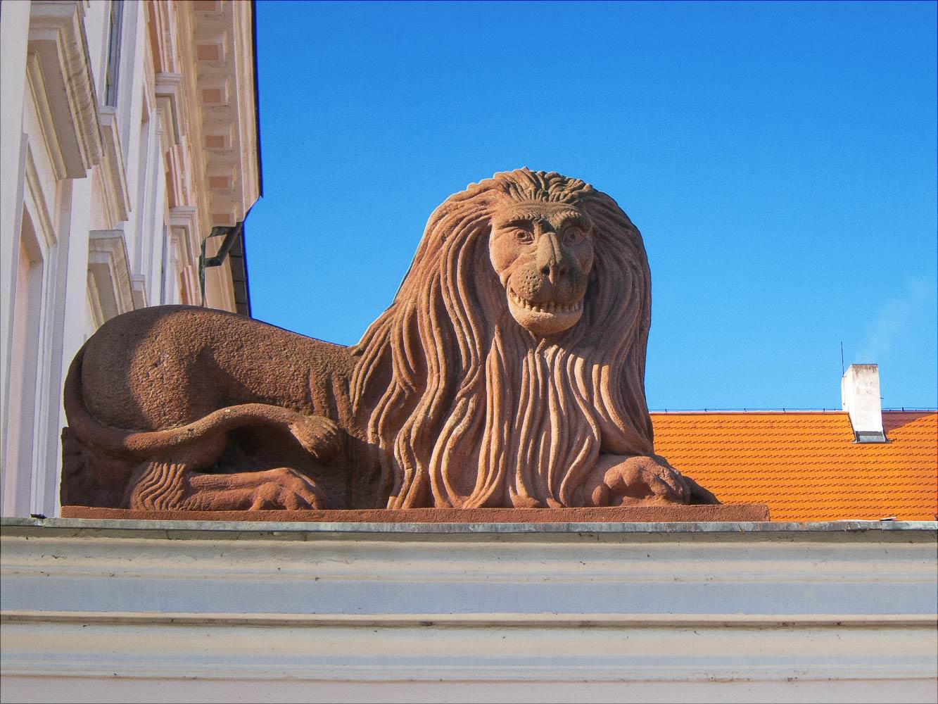 Улыбочка. Влашимский лев