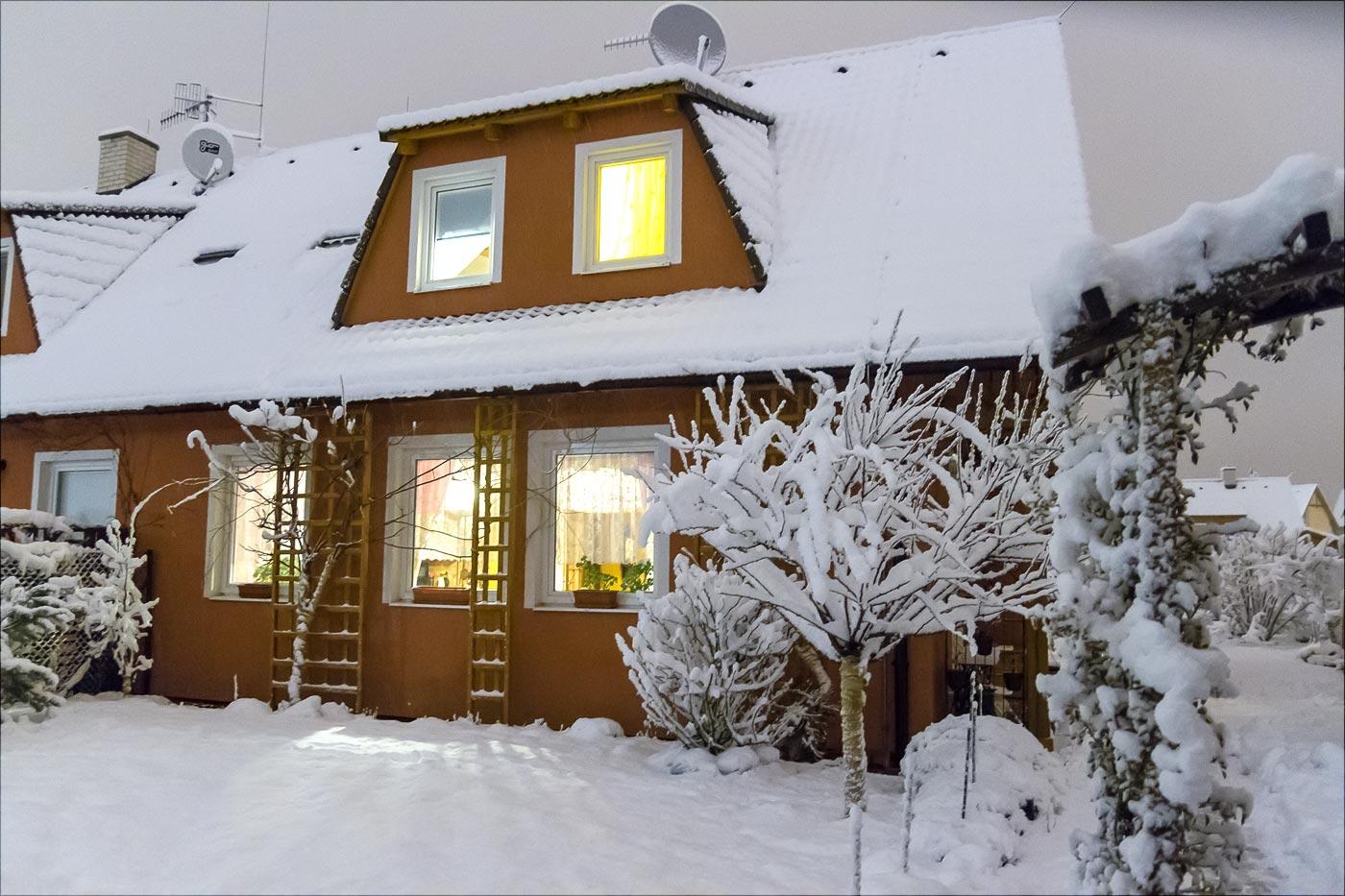 Снег в последнюю ночь зимы