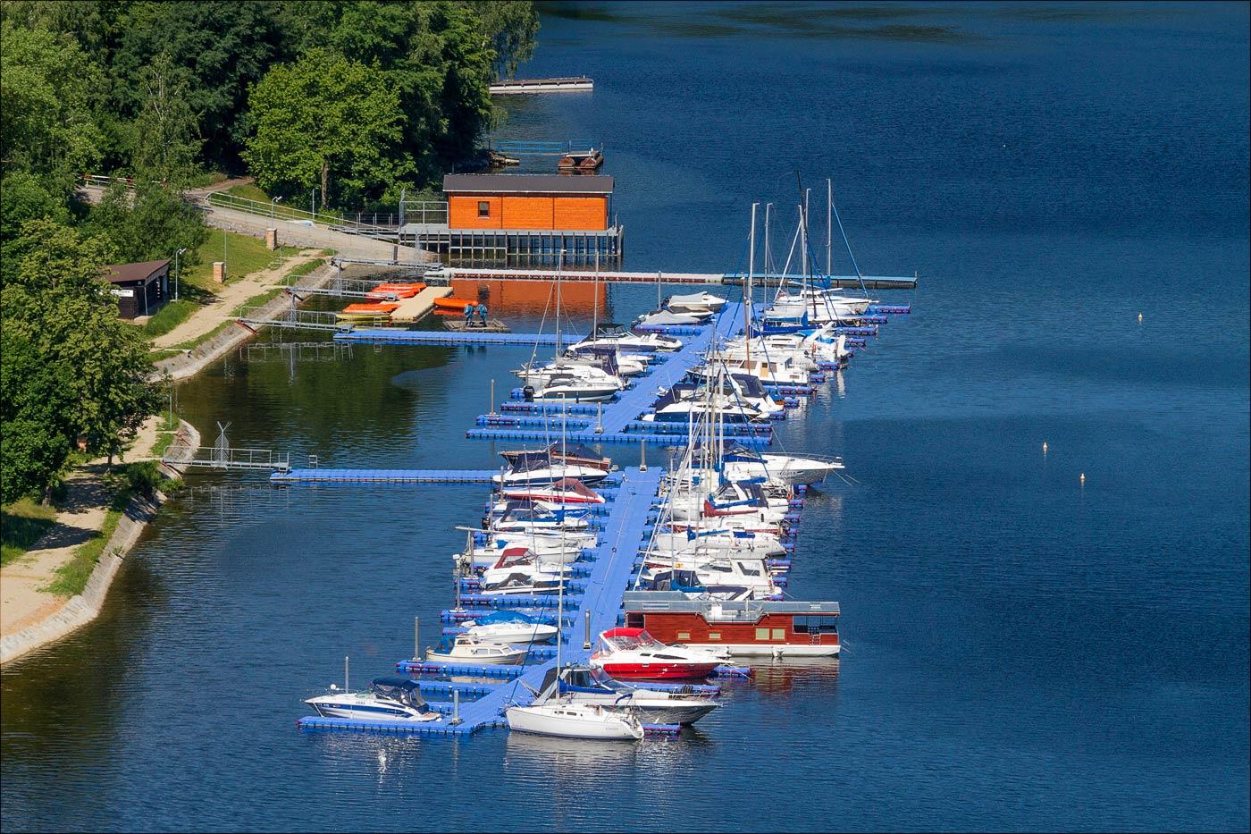 Яхтовая станция на Влтаве