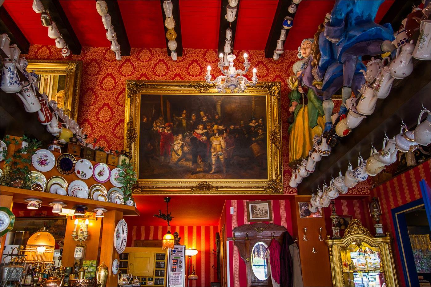 Декорации кафе в Саксонии