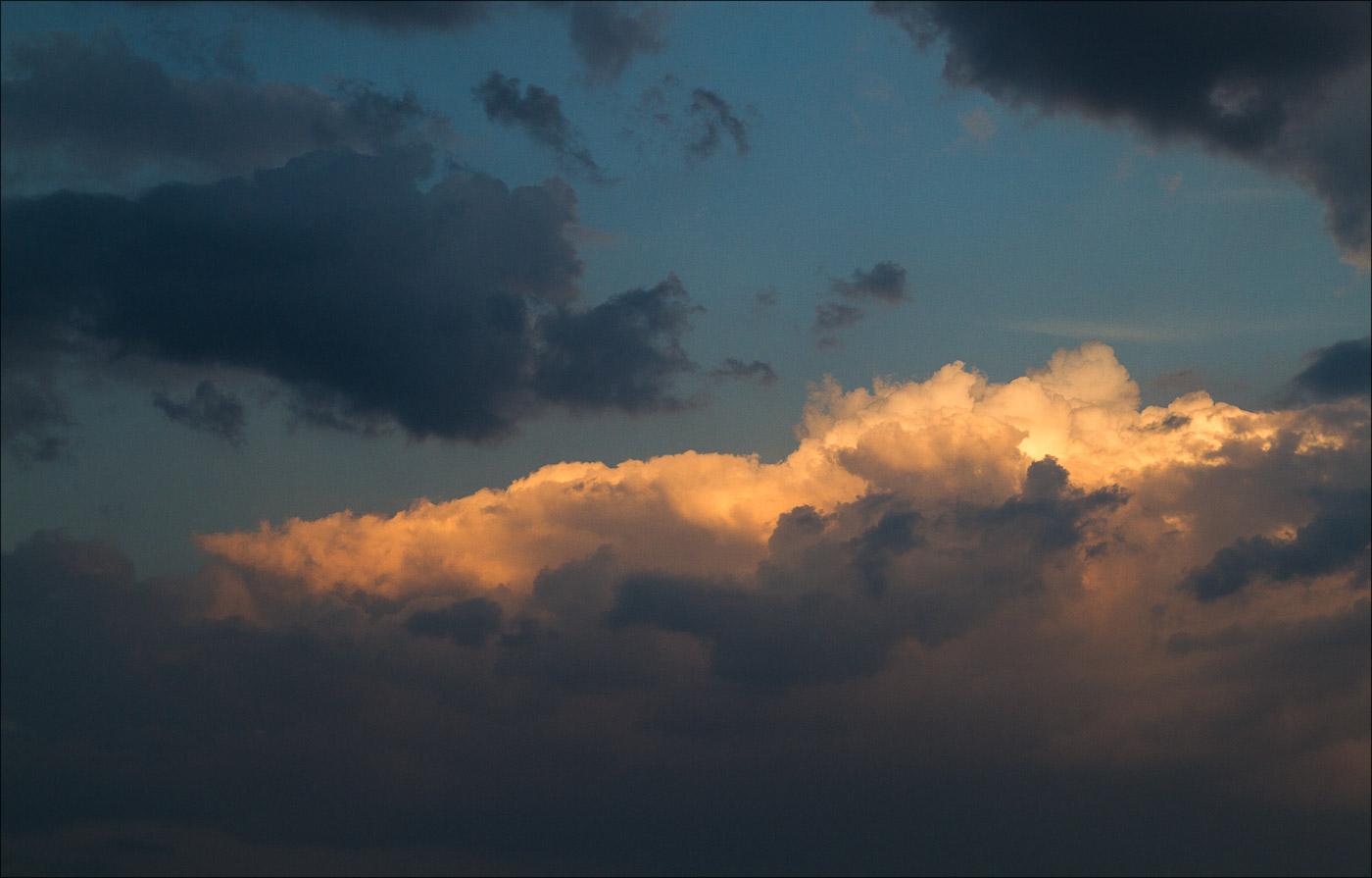 Закатные облака