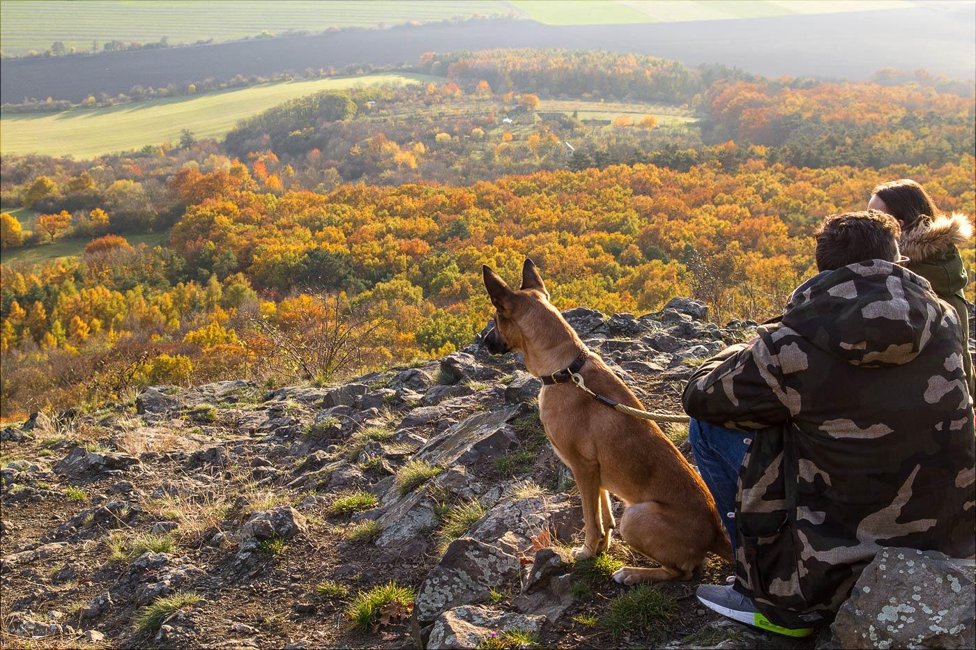 Осень. Вид с горы Ржип