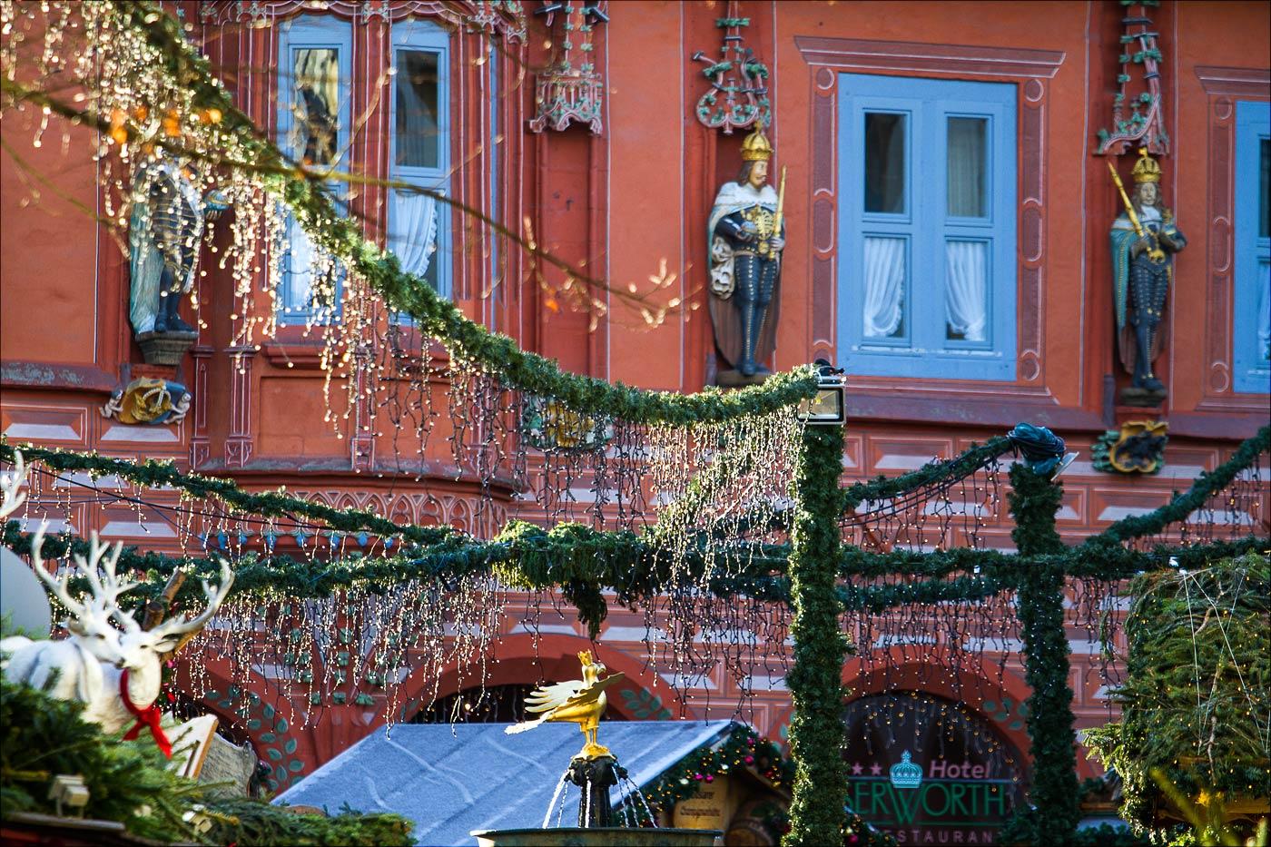 Рождественские украшения в Госларе