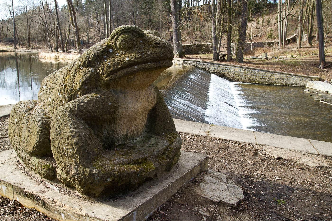 Скульптыра во Влашимском парке