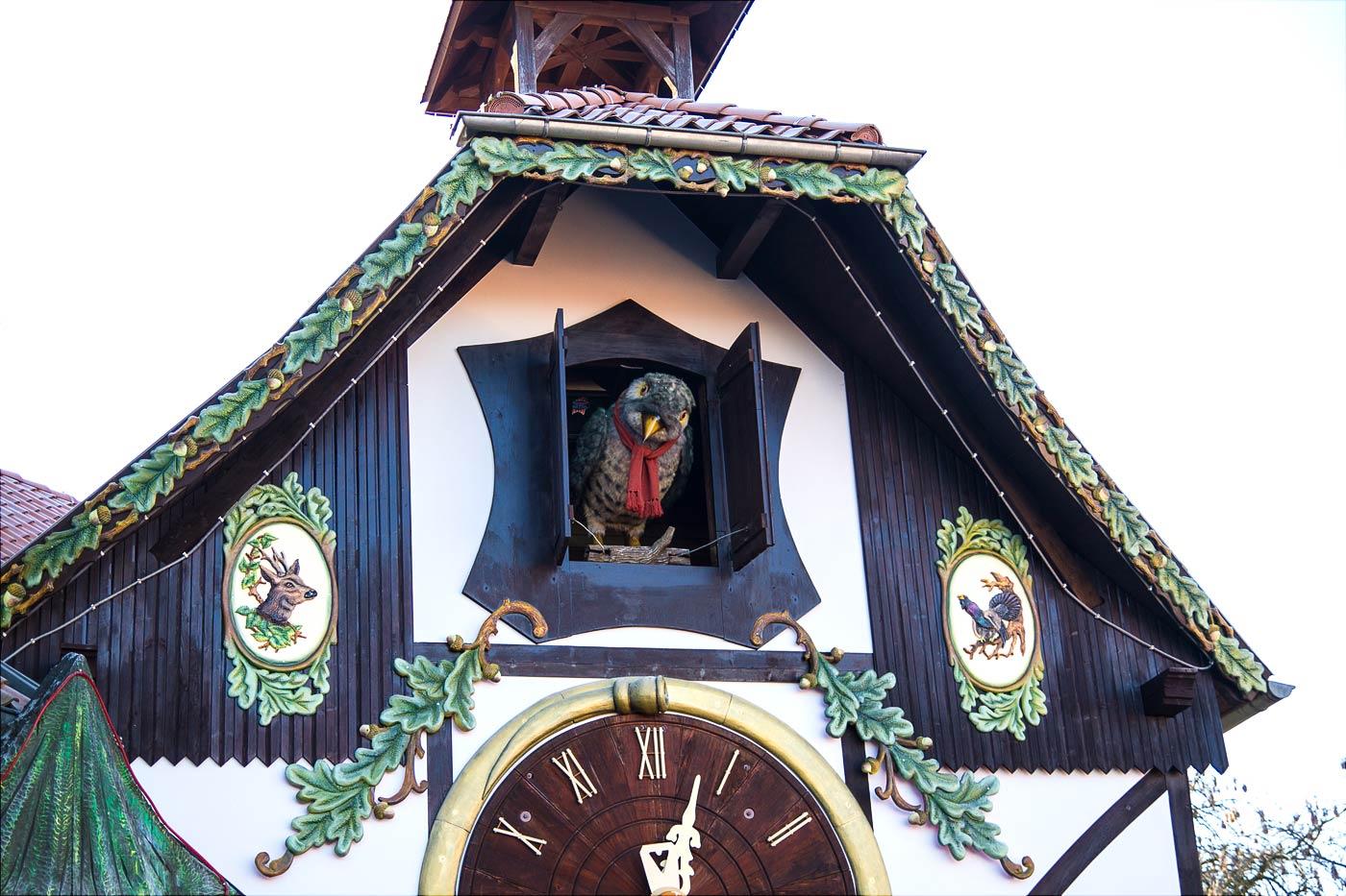 Самые большие механические часы с кукушкой, Гернроде, Германия