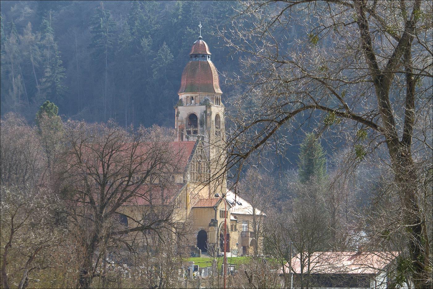 Костел святого Яна Непомуцкого, Штеховице