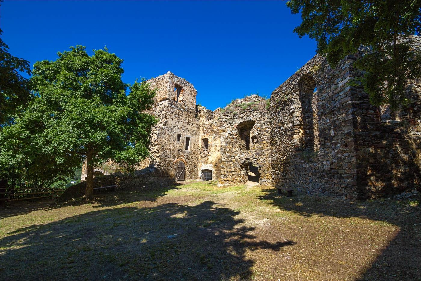 Замок Корнштейн, Южная Моравия