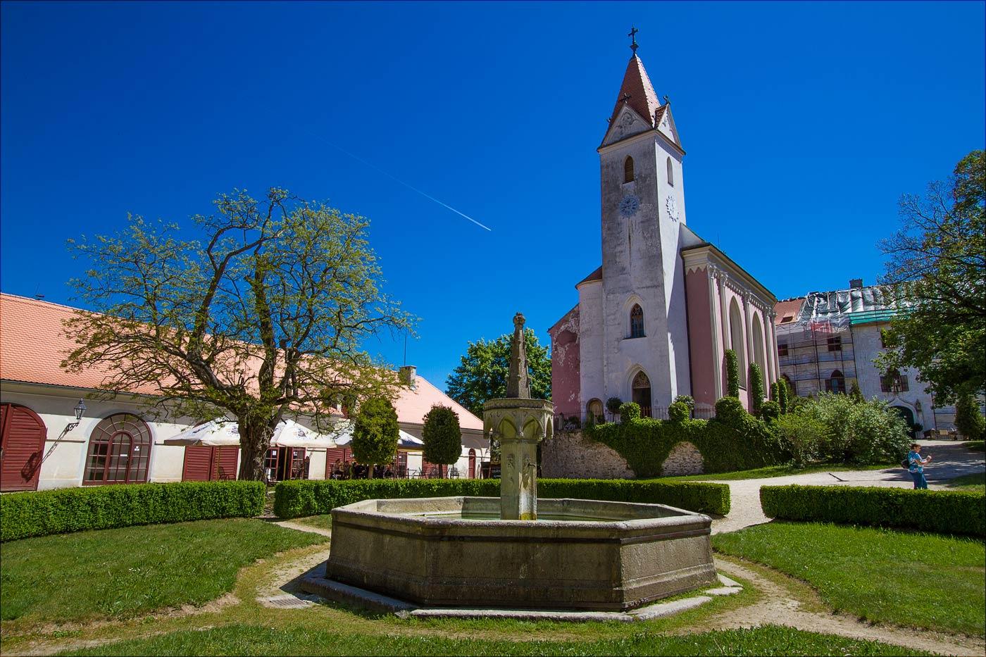 Замок Битов, Южная Моравия
