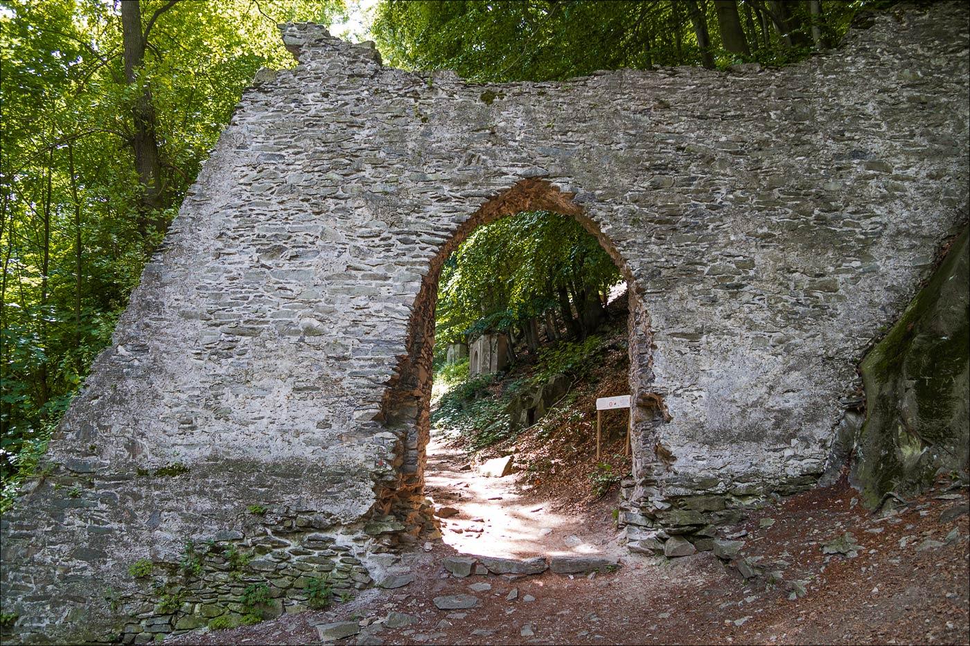 Крестный путь к замку Бездез