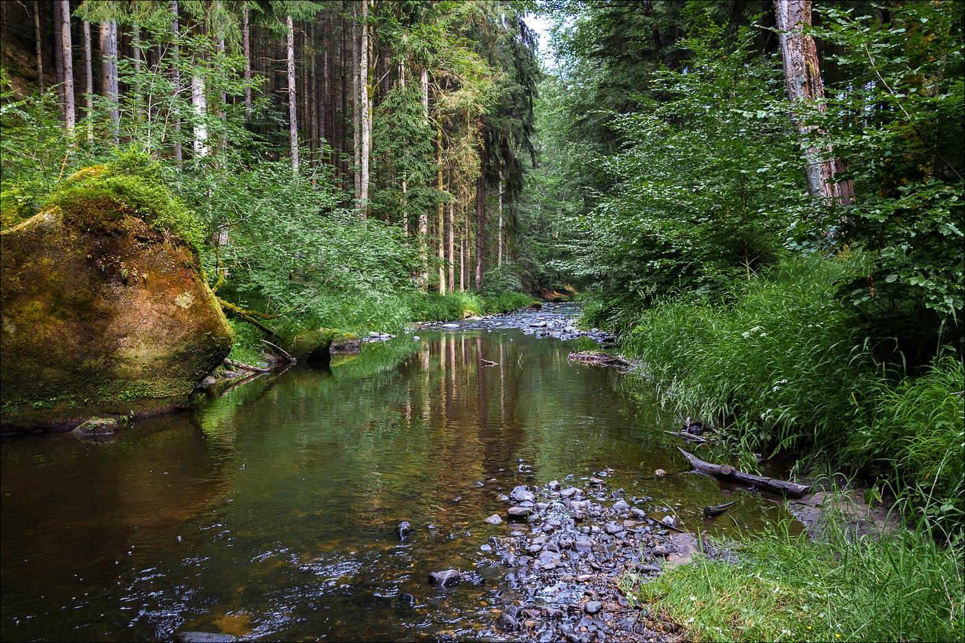 Чешская Швейцария, Павлинин каньон