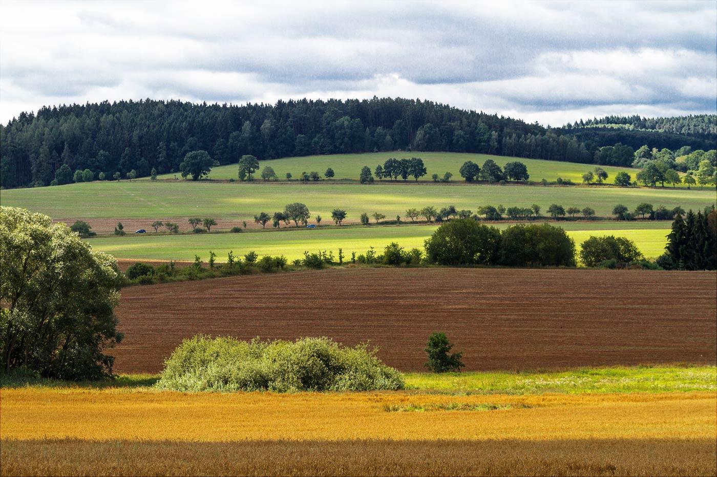 Осенние пейзажи Центральной Чехии
