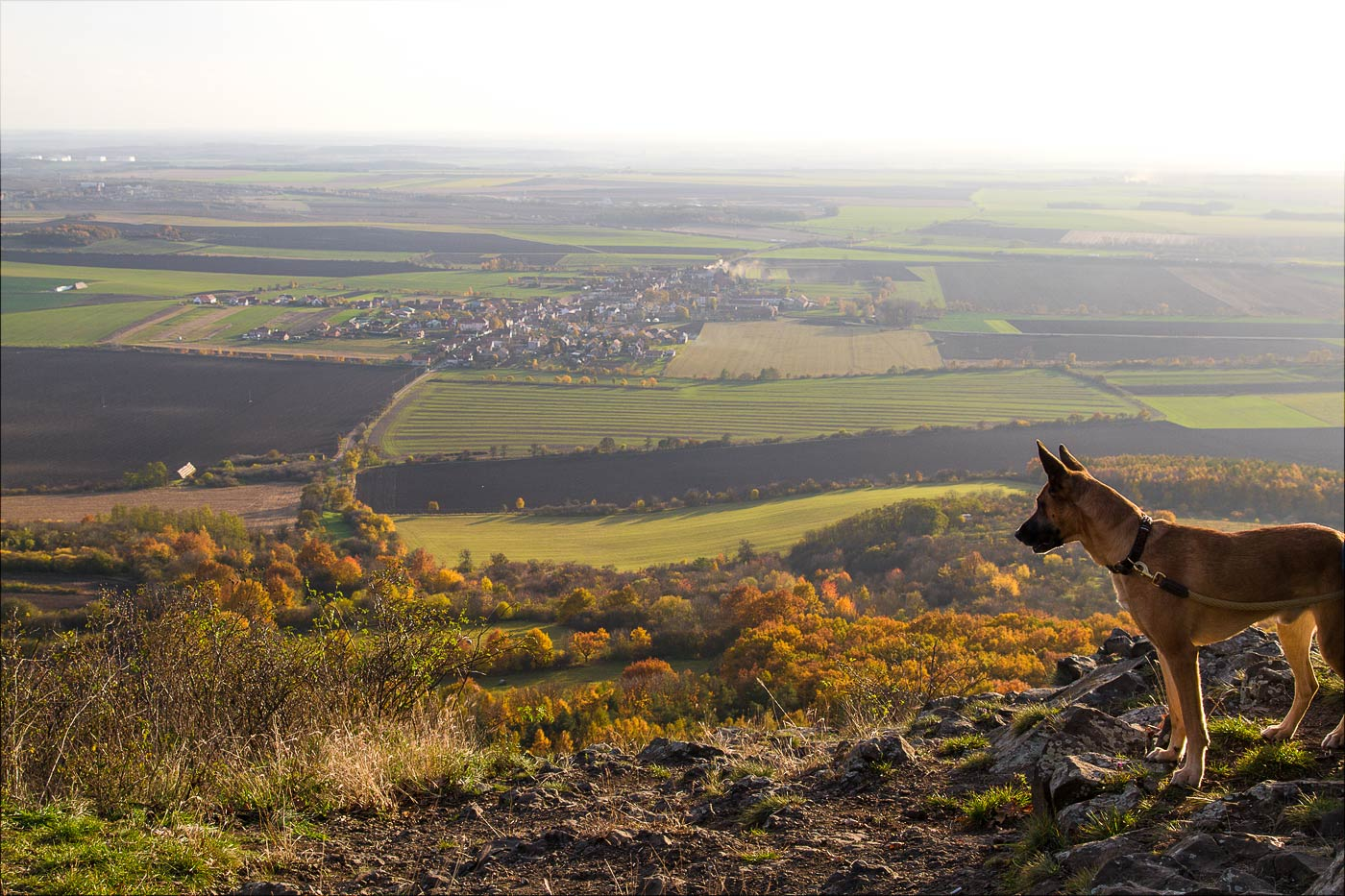 Осенний вид с горы Ржип
