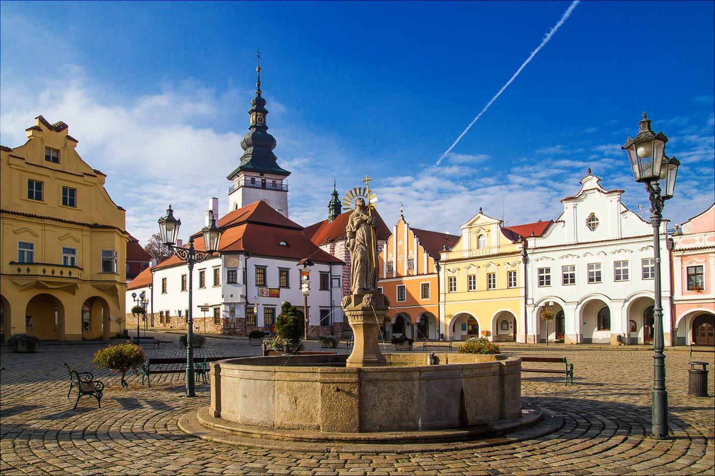 Пельгржимов, исторический центр