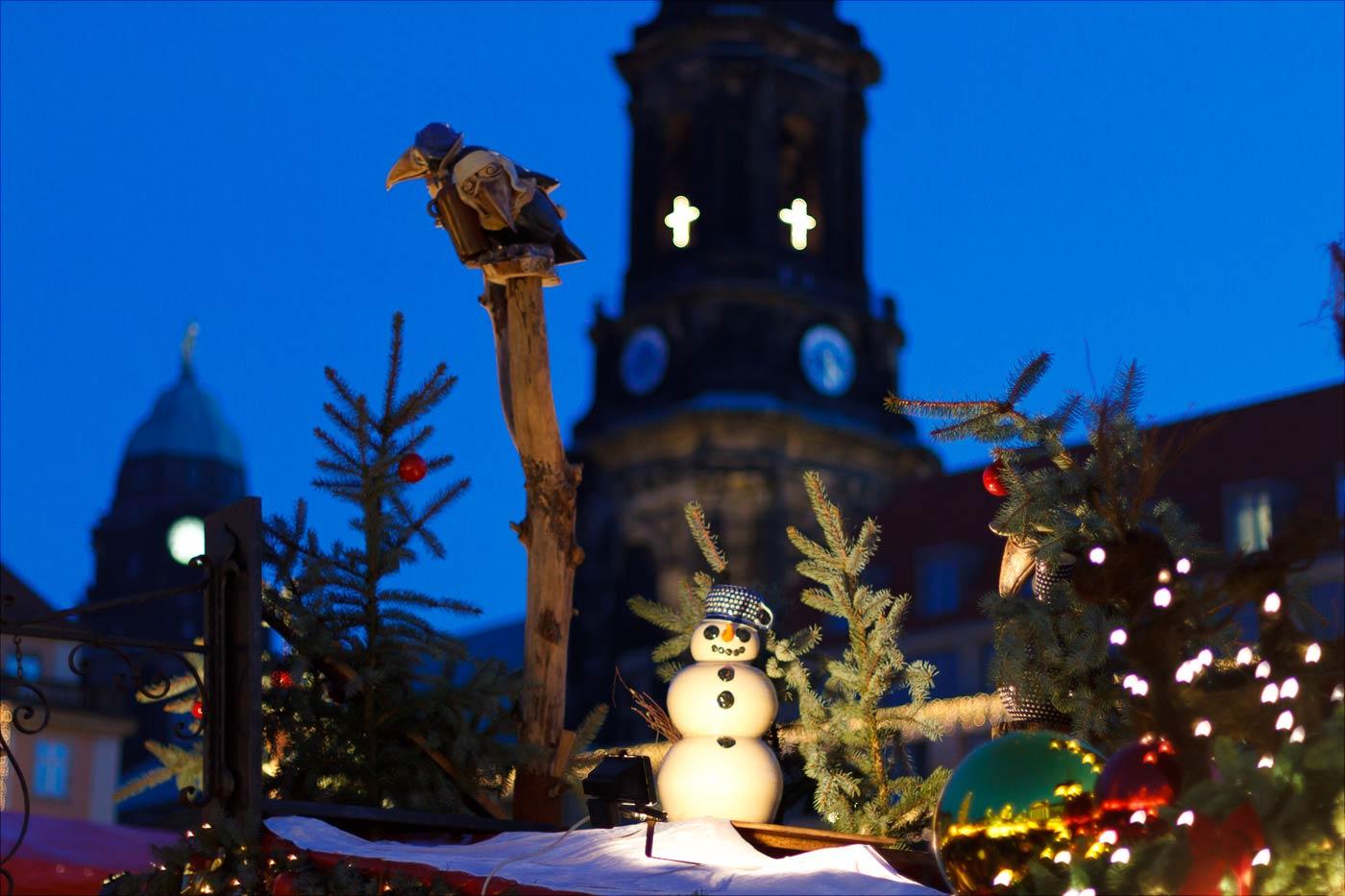 Адвентная ярмарка в Дрездене