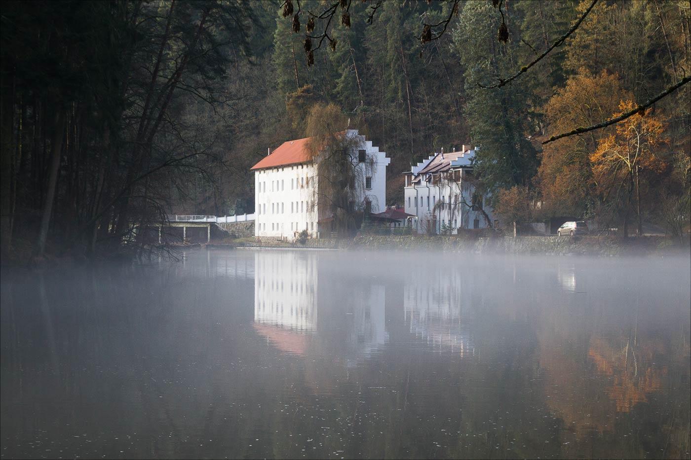 Бенешов млын на реке Лужнице у Табора
