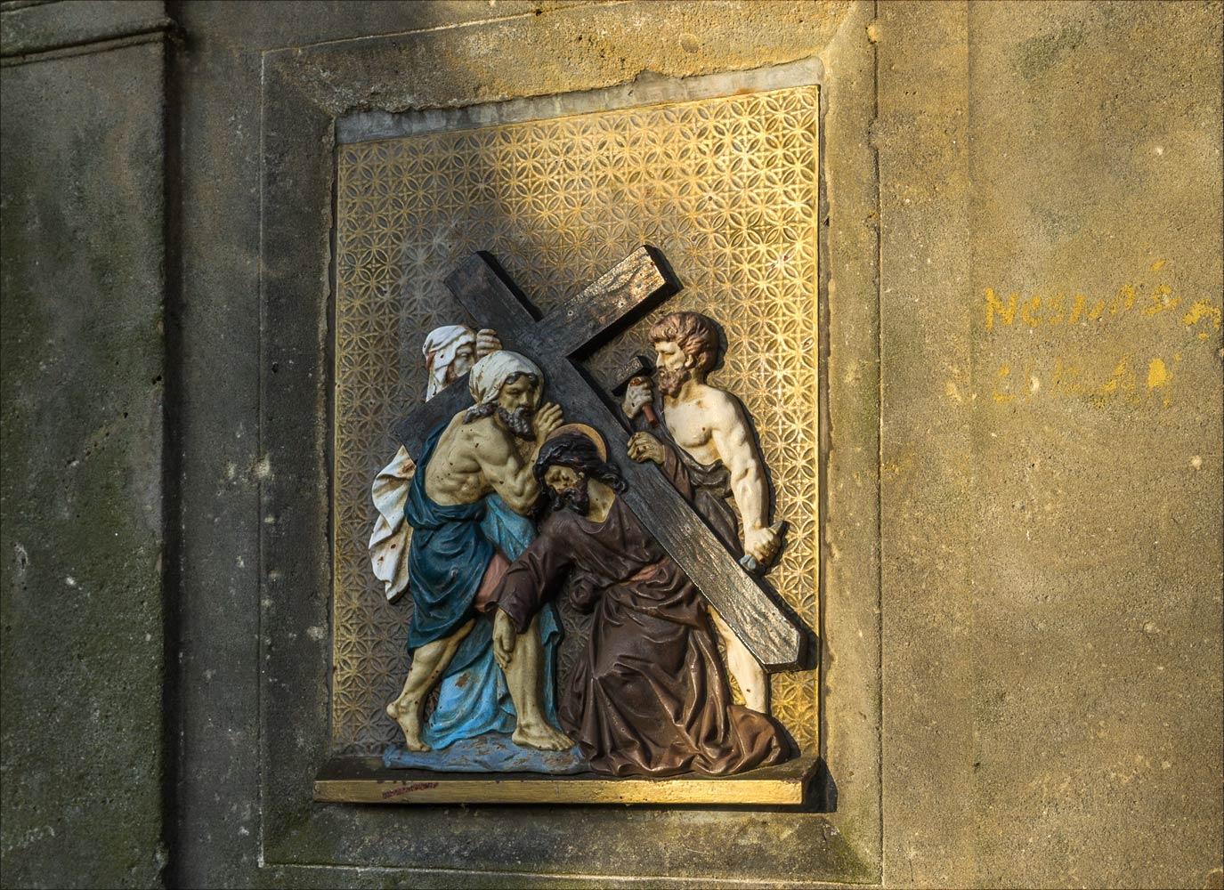 Крестый путь к монастырю Клокоты у Табора