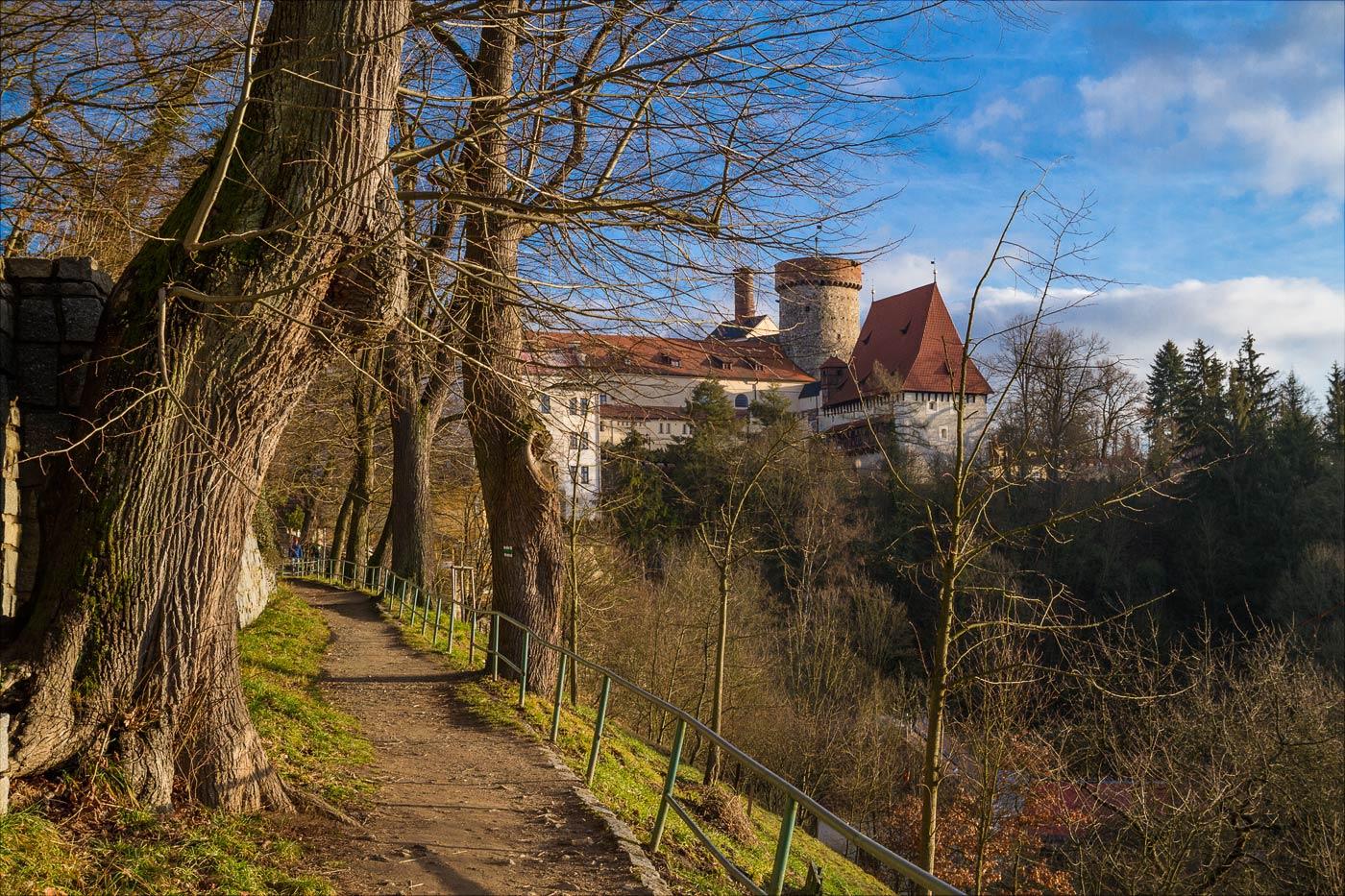 Башня замка Котнов в Таборе