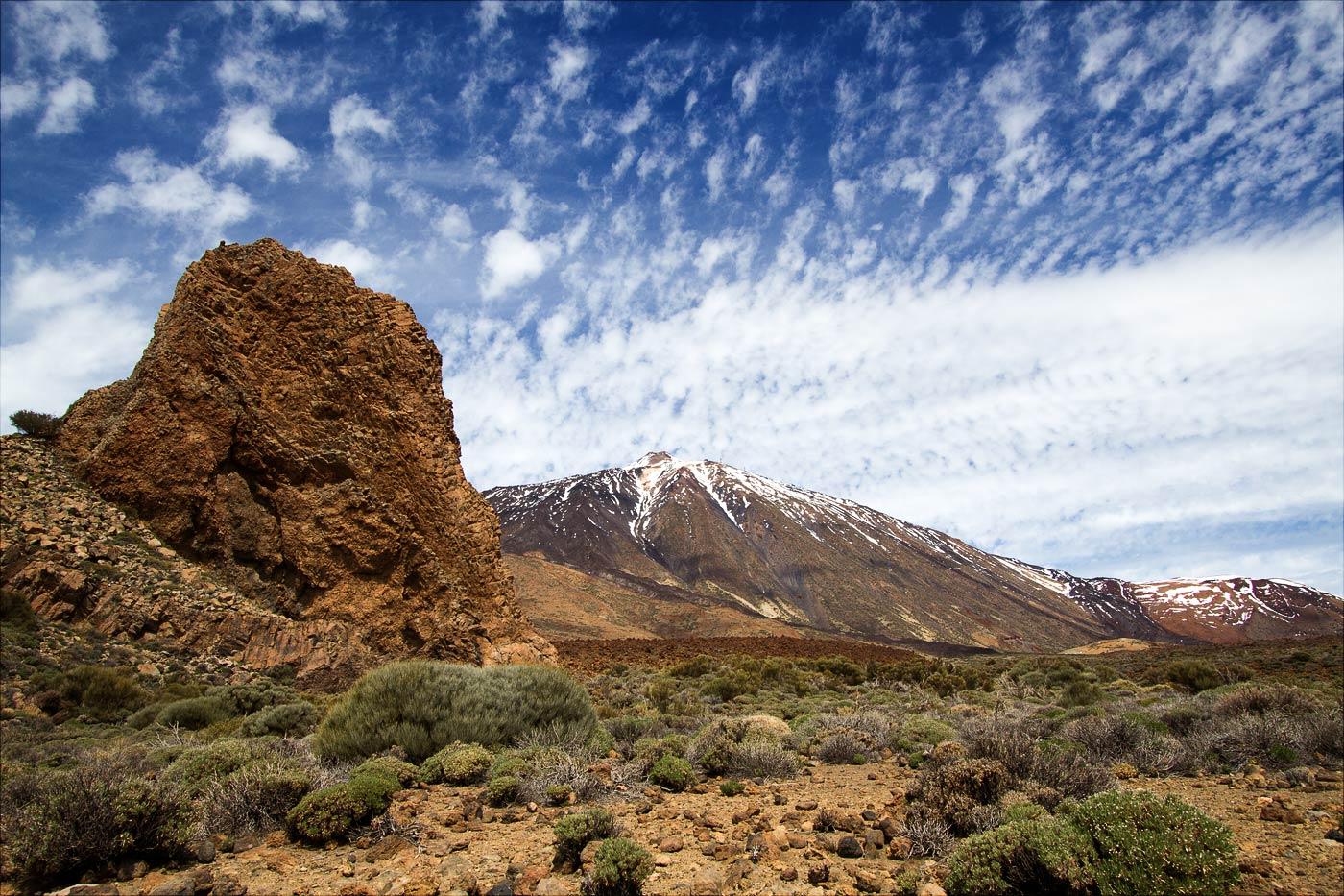 Тейде, юго-западная сторона вулкана