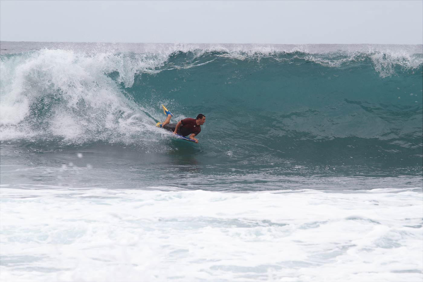 Серфинг, северное побережье Теренифе