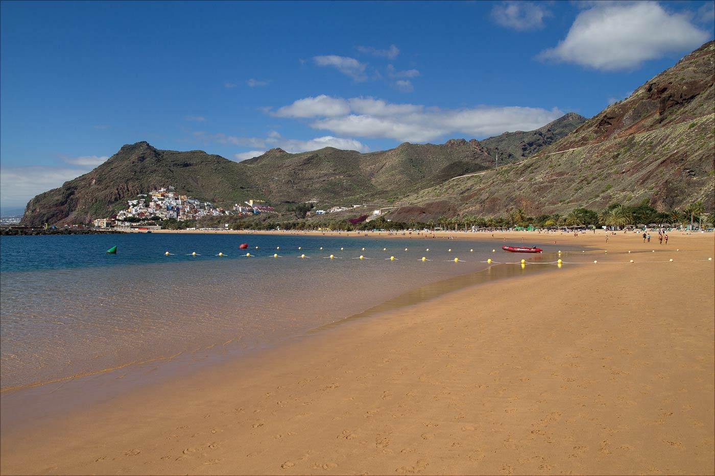 Пляж Лас-Тереситас, Санта-Крус-де-Тенерифе